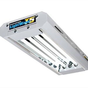 LightWave T5 2x24 W, T5 Light Wave växtbelysning för övervintring