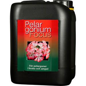 Pelargonnäring - Pelargonium Focus, 5 Liter, Näring för pelargoner