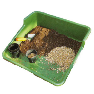 Planteringsbricka Tidy Tray - Grön,