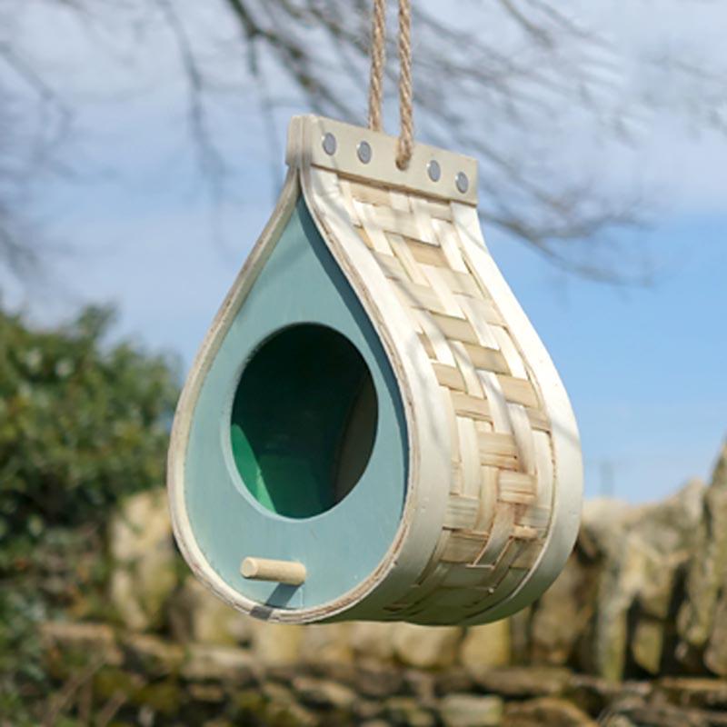 Fågelmatare, Dewdrop Bird Feeder-Fågelmatare i trä