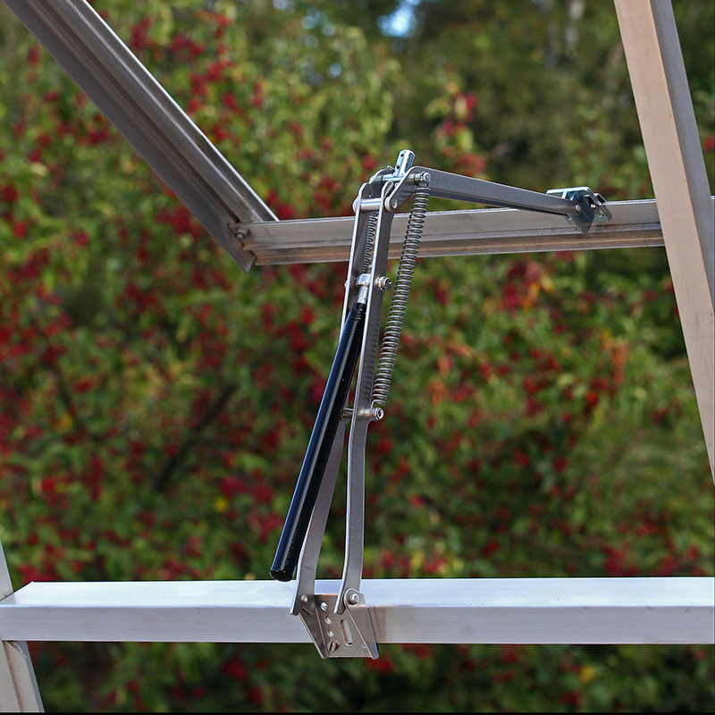 Automatisk fönsteröppnare till växthus