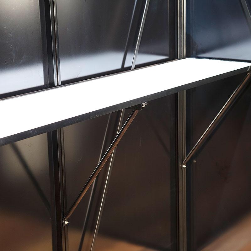 Arbetsbord, universal för växthus 225 x 52 cm, retro
