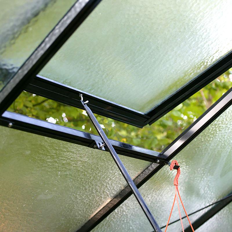 Extra takfönster, lackat-Extra takfönster till växthus, lackat