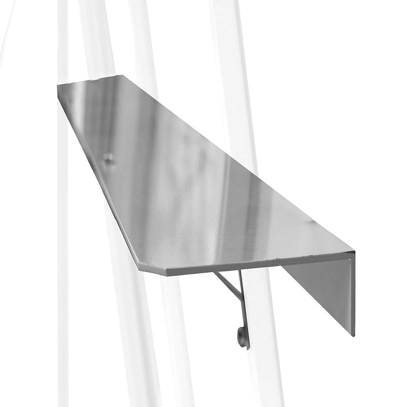 Hylla i aluminium 150 x 13 för montering i växthus