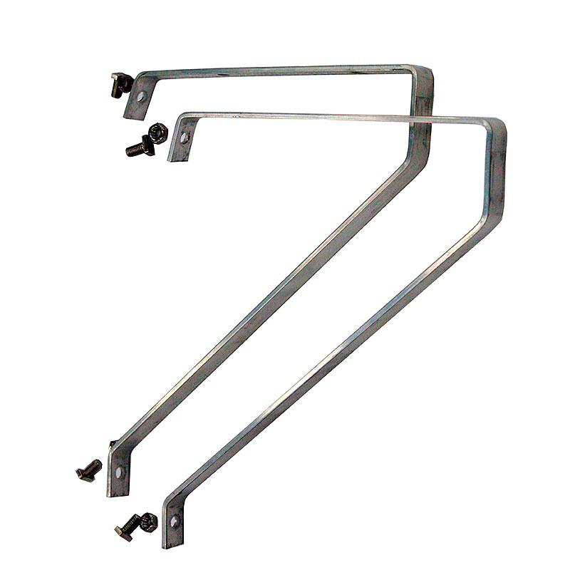 Hyllkonsoler, aluminium 2-pack-Hyllkonsoler i aluminium för växthus, 2-pack