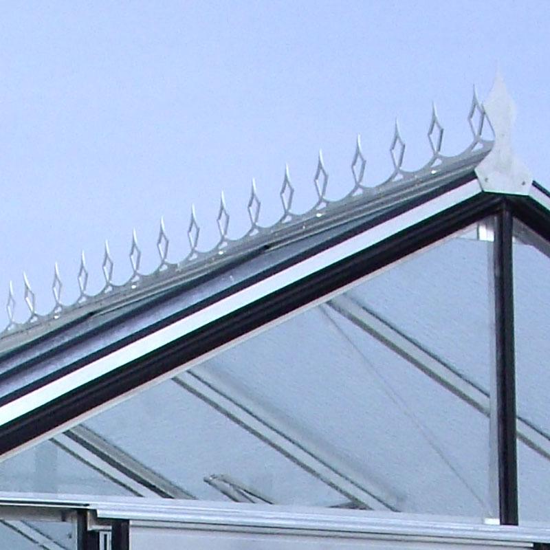 Nockdekoration till växthus med 8 paneler