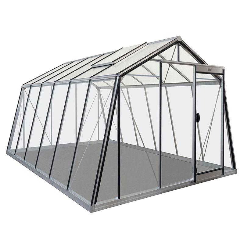 Växthus i glas och alumninium, Action 13,6 kvm