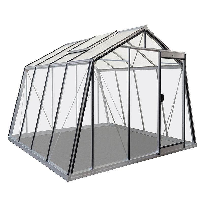 Växthus i glas och alumninium, Action 9,1 kvm