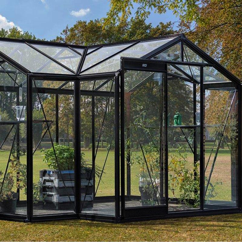 Orangeri Aurelie 10,3 kvm, Orangeri Aurelie, ett växthus för odling och avkoppling
