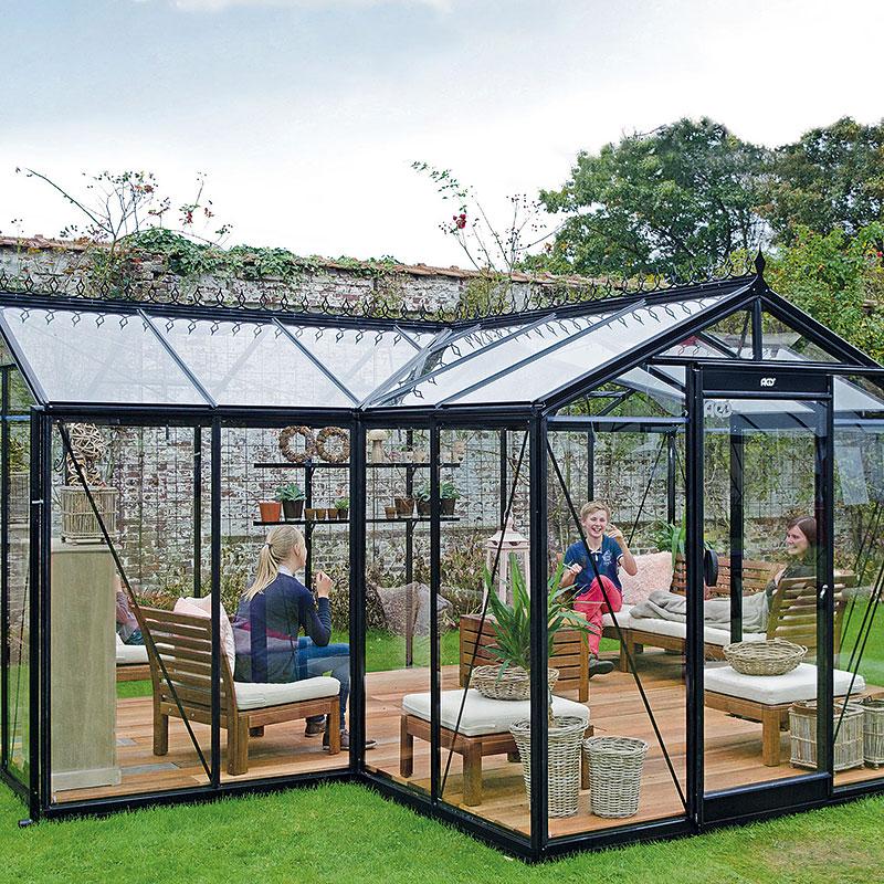 Orangeri Babette 15,4 kvm, Orangeri Babette, ett växthus för odling och avkoppling