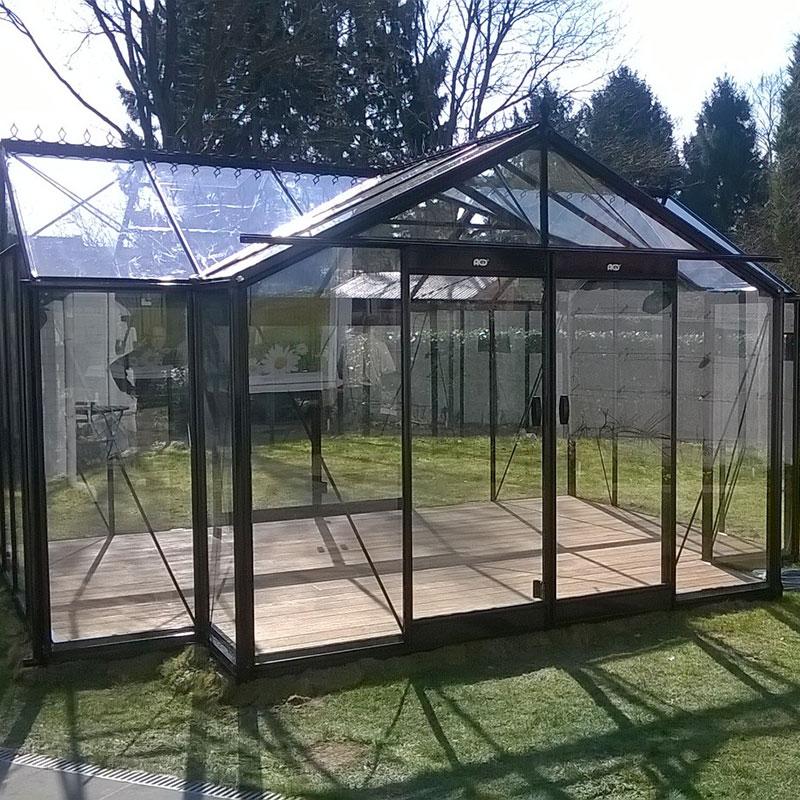 Orangeri Helene, ett växthus för odling och avkoppling