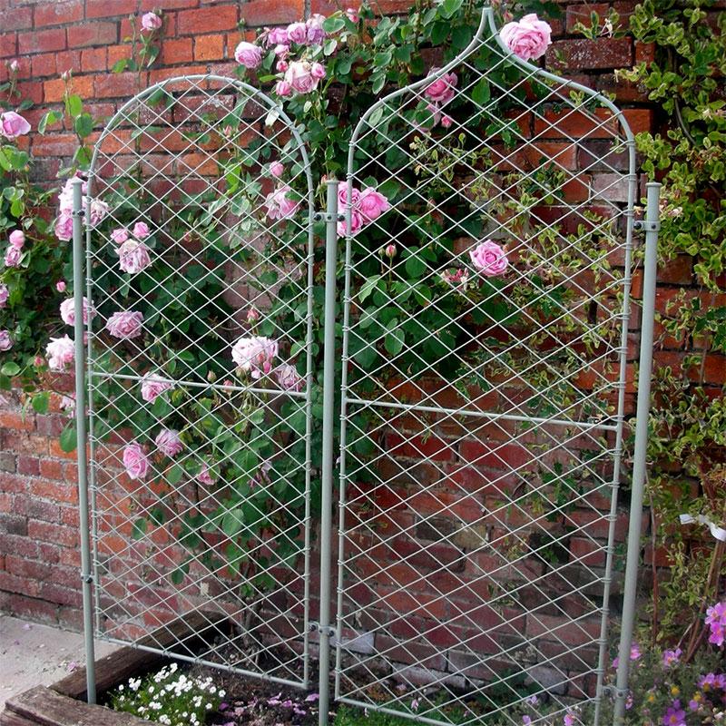 Påle till trädgårdsskärm, Monteringspåk för trädgårdsskärm