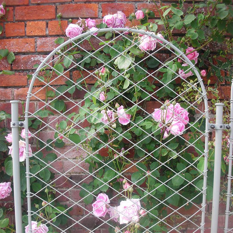 Trädgårdsskärm, Elegance Round, Växtskärm till trädgården i smide, Elegance Round