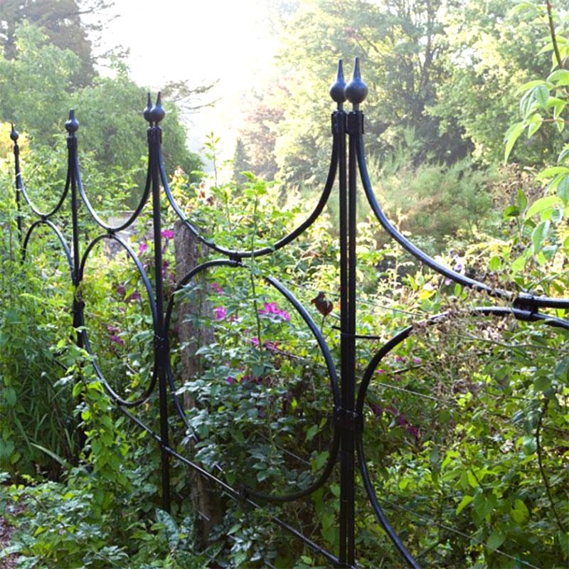 Oval Screen - skärmvägg-En elegant skärmvägg eller staket för trädgården