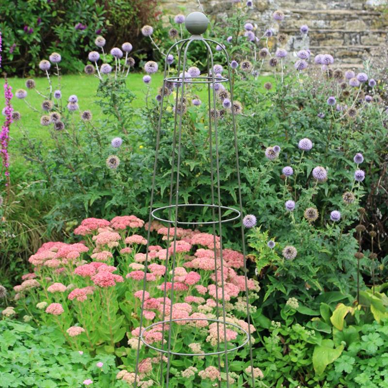 Växtstöd Somerset Queen Obelisk, Stöd för klätterväxter Somerset Queen Obelisk i smide