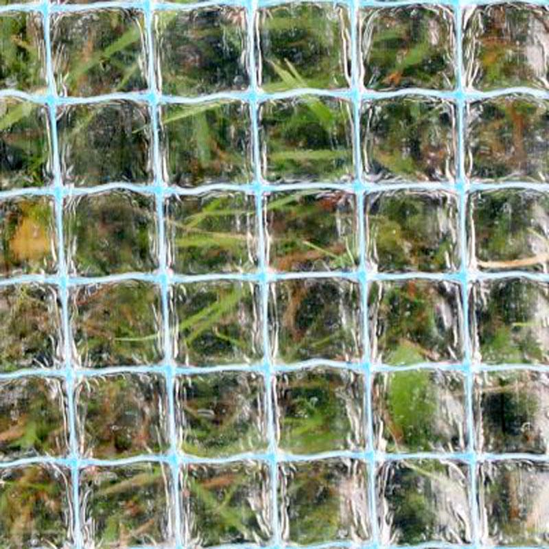 Transparent, armerad växthus- och drivbänksplast