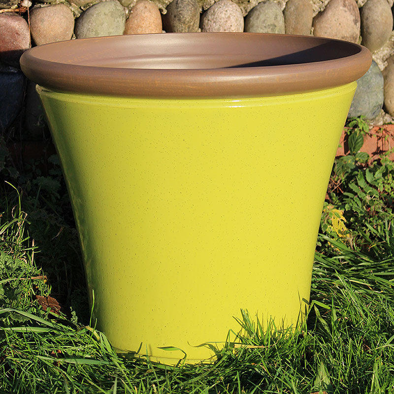 Davenport Planter, Apple Green 36 cm, Lättviktskruka fiberclay Davenport Planter Apple Green 36cm
