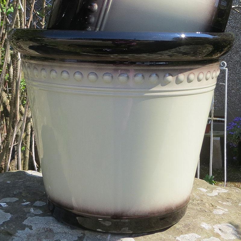 Iberian Planter Latte 40 cm-Lättviktskruka Iberian Planter Latte 40 cm