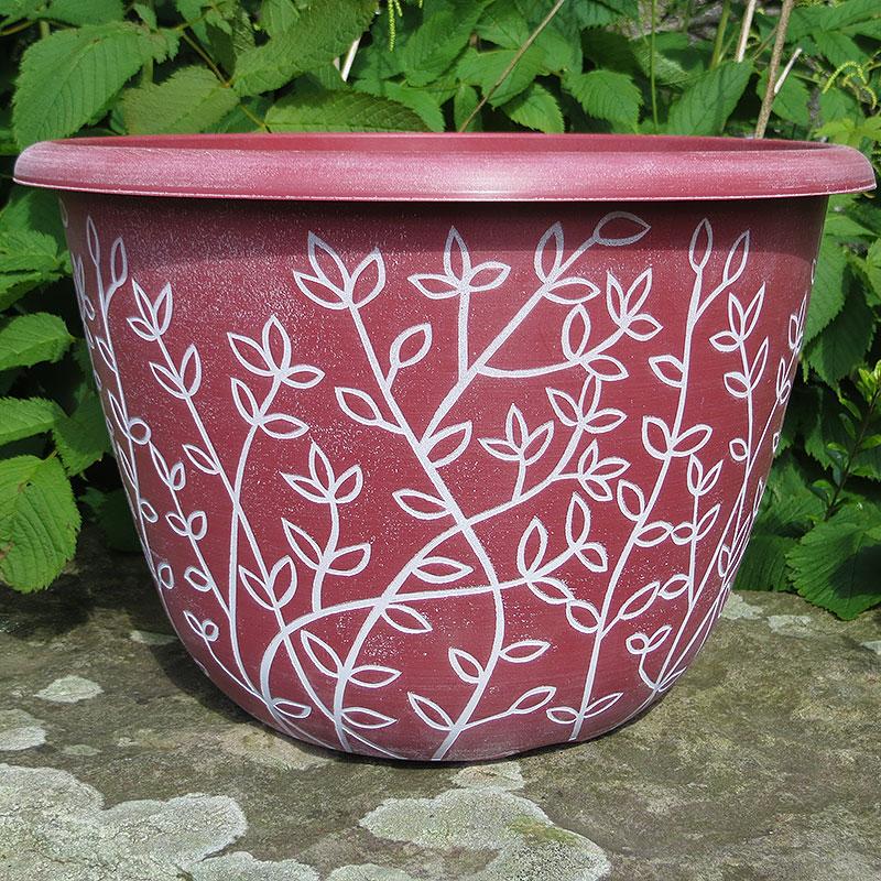 Serenity, Pantone Terracotta-Lättviktskruka Serenity Pantone Terracotta