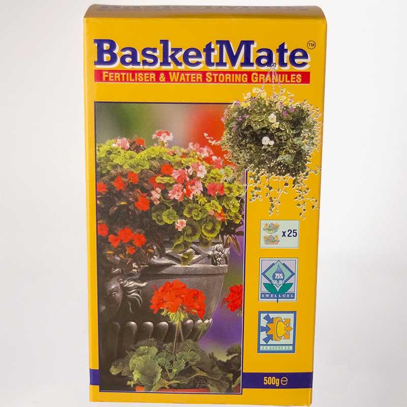 BasketMate 500 gram, vattenhållande kristaller med näring