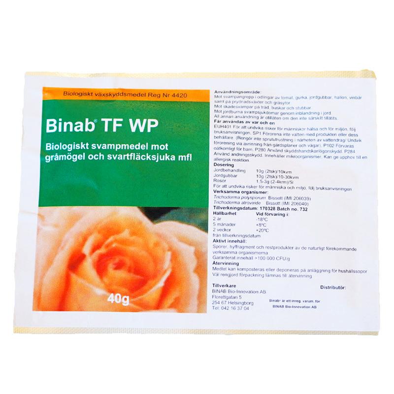 BINAB - Trichodermasvamp, Binab Trichoderma - bekämpning mot svampsjukdomar mm