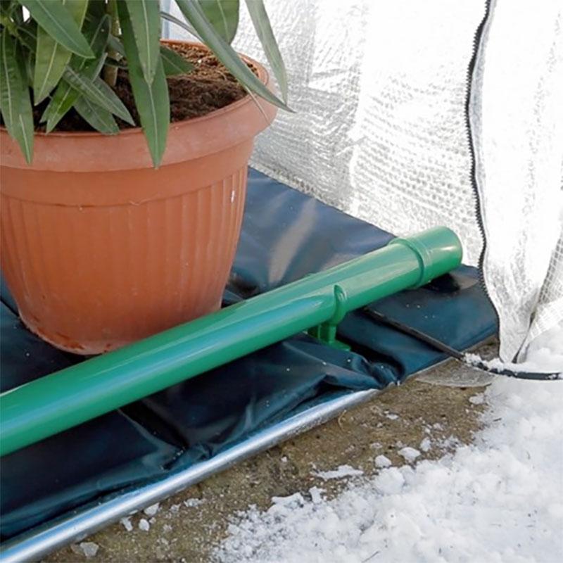 Frostbuster - elektrisk frostvakt 80 W, Elektrisk frostvakt för växthus