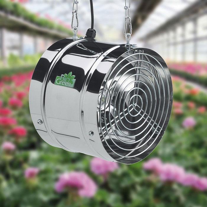 Växthusfläkt Arizona, Fläkt för ventilation av  växthus