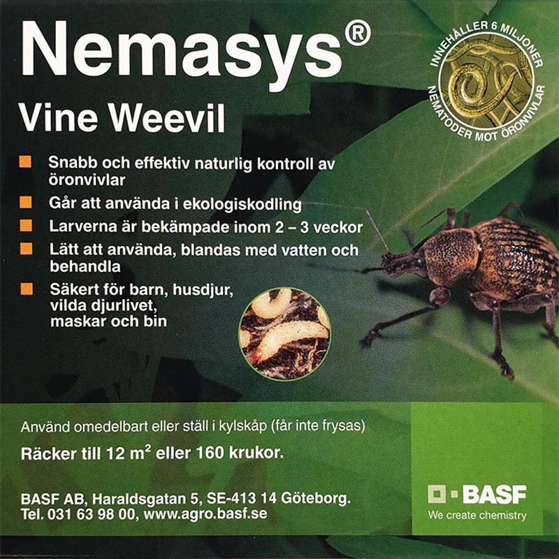 Nemasys L mot öronvivelns larver