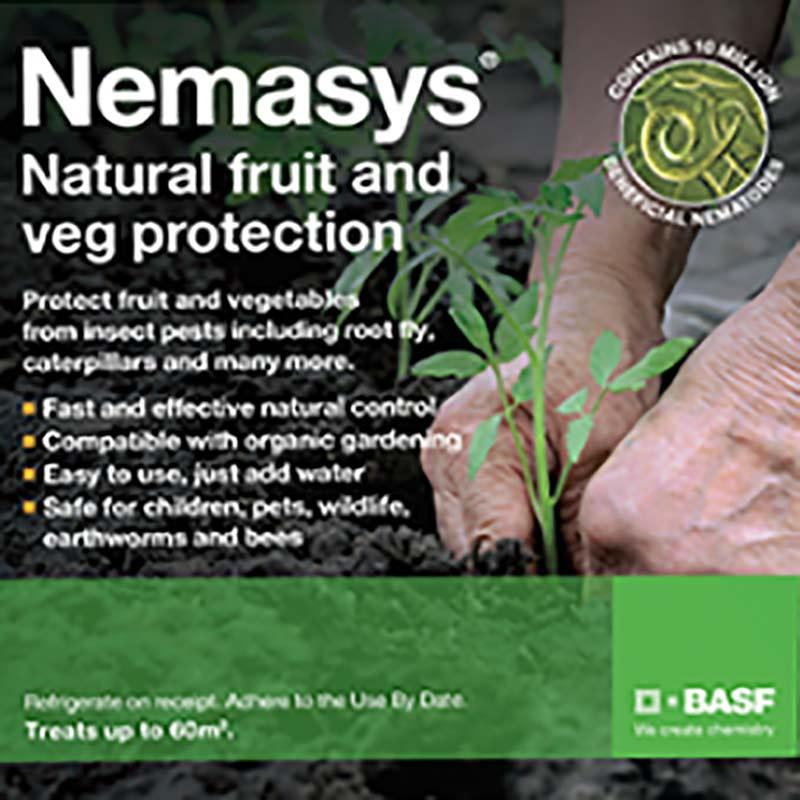 Nemasys Multi- Naturligt skydd för frukt och grönsaker