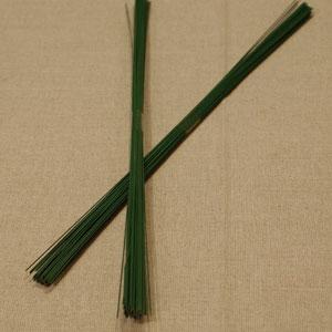 Grön Blomstertråd, 35 cm.,