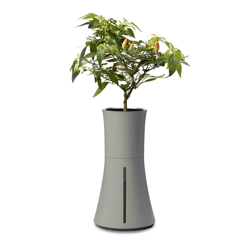 Botanium, hydroponisk odlingsstation, grå