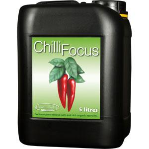 Chilli Focus Chili- och paprikanäring 5 Liter, Näring för chili och paprika