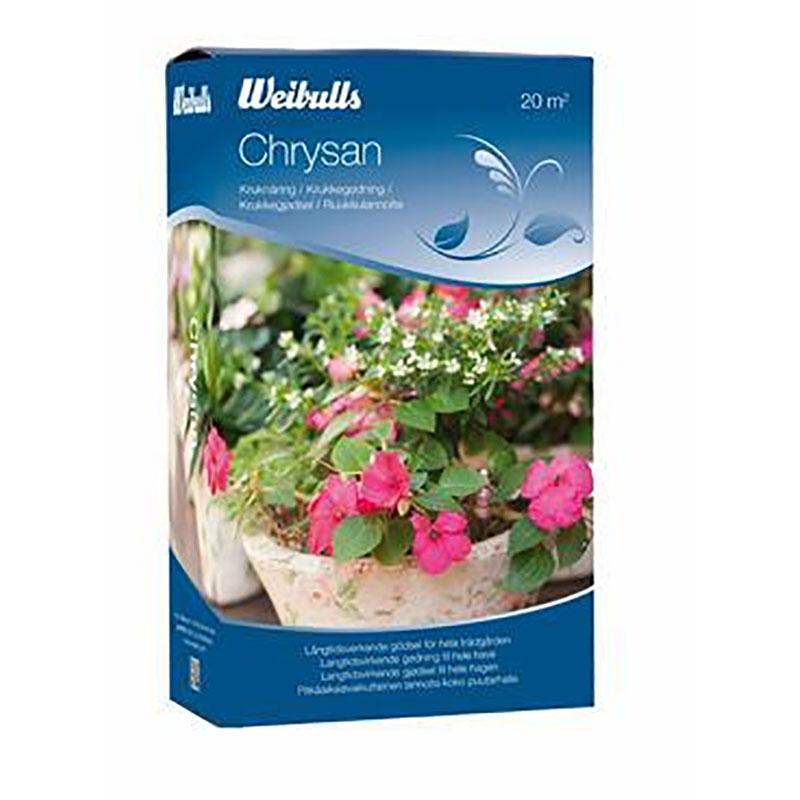 Chrysanmjölad 1 kg, Chrysan gödningsmedel för trädgården
