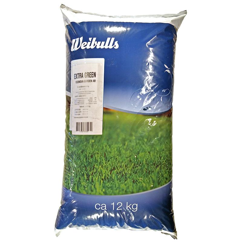 Gräsfrö Extra Green 12 kg-Gräsfrö, Extra Green 12 kg
