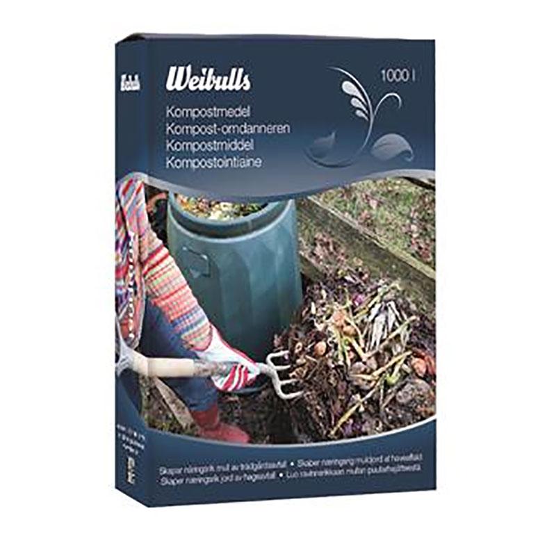 Kompostmedel 1,5 kg, Kompostmedel för nedbrytning