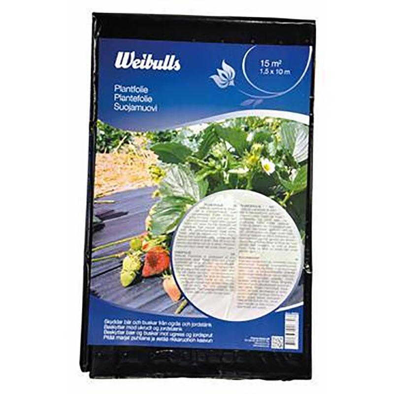 Plantfolie 15 m2, Plantfolie för jordgubbslandet mm