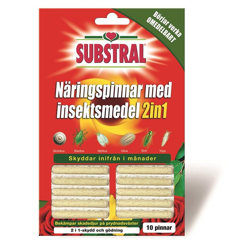 Substral näringspinnar med insektsmedel