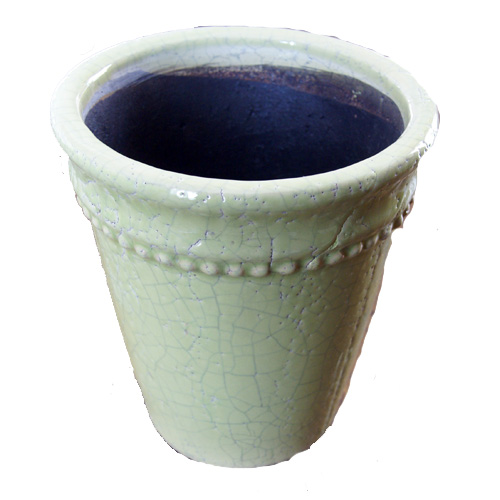 Ytterkruka Sedona Grön - Large-ytterkruka i grön keramik