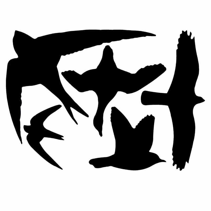Fågelsiluetter för fönster-Fågelsilueter för fönster
