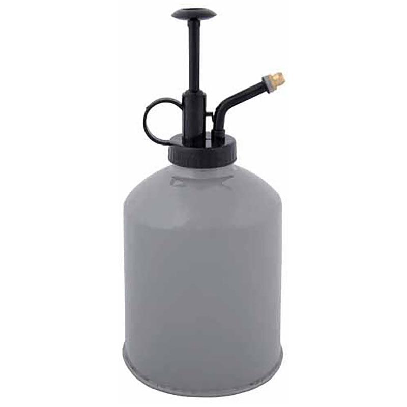 Sprayflaska för växter, grå, stor, Stor blomsterspray, grå