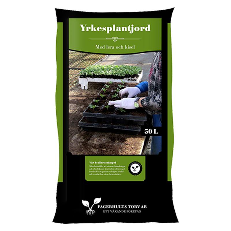 Yrkesplantjord, 50 L, Yrkesplantjord från Fagerhults Torv, 50 liter
