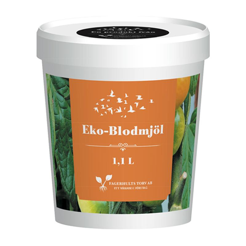 Eko-Blodmjöl 1,1 L-Ekologiskt blodmjöl 1,1 liter