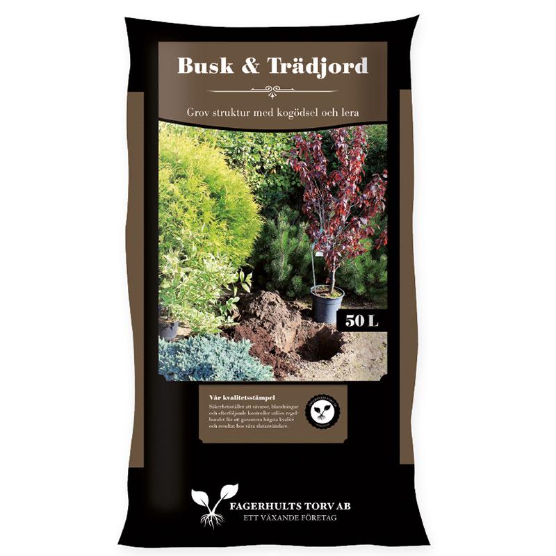 Jord för plantering av buskar och träd, 50 liter