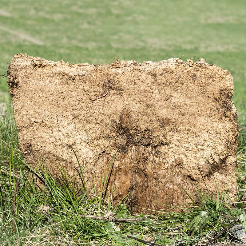 Osågade torvblock 50x30x25-Osågade Torvblock 50 x 30 x 25 cm