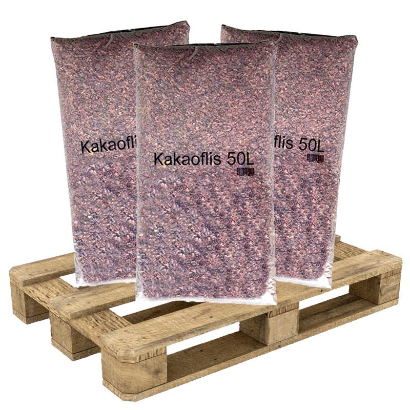 Kakaoflis från Fagerhults Torv, 40x50 liter på pall