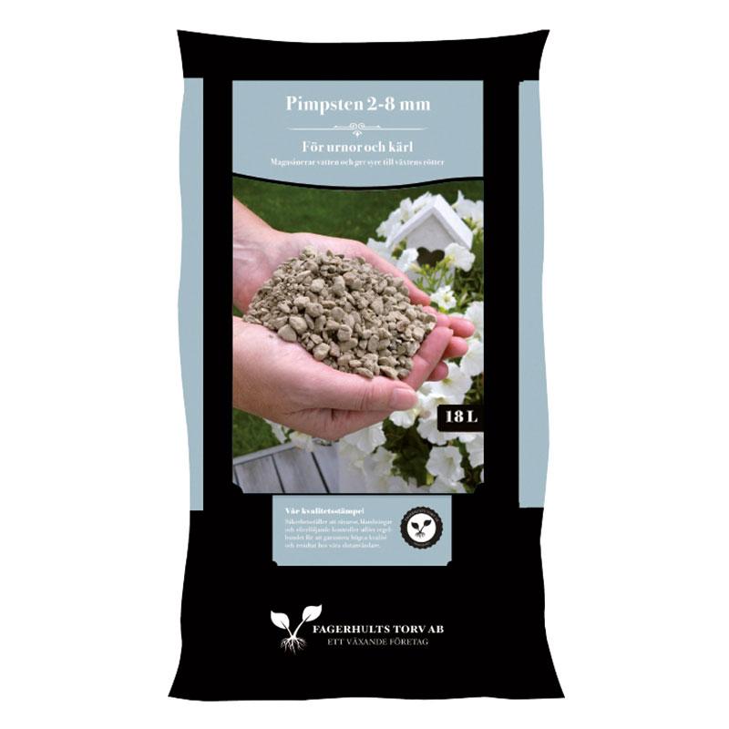Pimpsten 2-8 mm. Ett optimalt jordförbättringsmedel