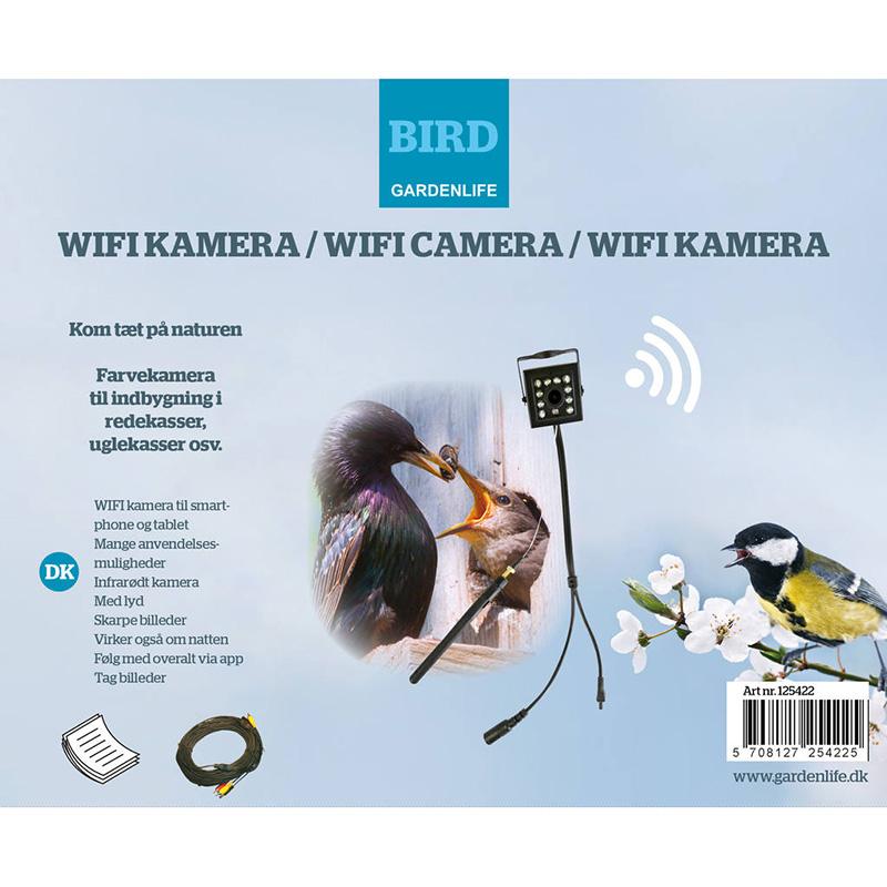 Fågelholk  Twigs med wifi-kamera,