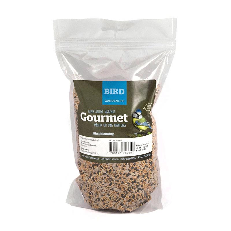 Vildfågelmix gourmet, 800gram-Nyttiga fröer till trädgårdsfåglar