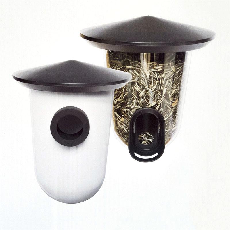 Fågelbo och fågelmatare, BreedR-FeedR-Multilösning, fågelmatare och fågelholk i ett.