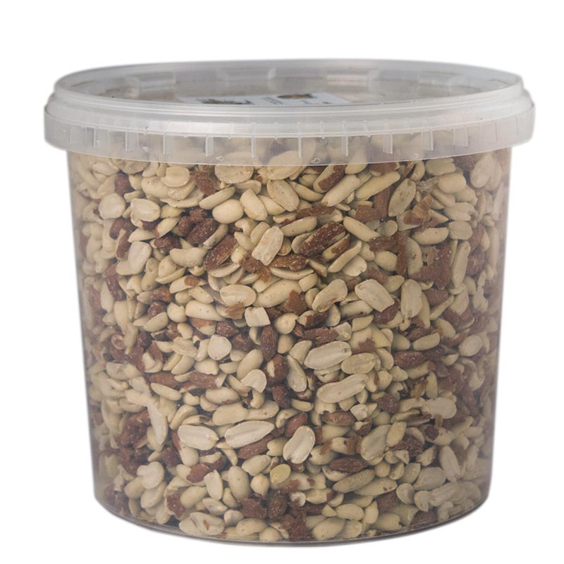 Fågelmat, Nötter i hink 5 liter-Näringsrika nötter till fåglar.
